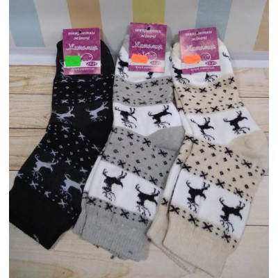 Махровые носки, ОК056