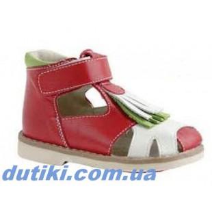 Ортопедические туфли-сандалии для девочек Арт: 2536