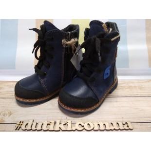 Зимние ортопедические ботинки для мальчиков и девочек Арт:2717-последняя пара!