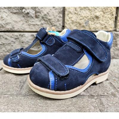 Ортопедические-профилактические сандалии, 292-21 dark-blue