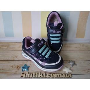 Стильные кроссовки для девочек с мигалками Арт: 3265С