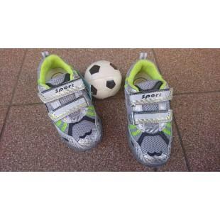 Кроссовки для мальчиков с мигалками Арт: 6723-U
