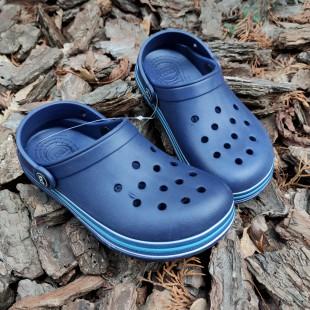 Крокси з піни EVA для хлопчиків Арт: 823 т.синій