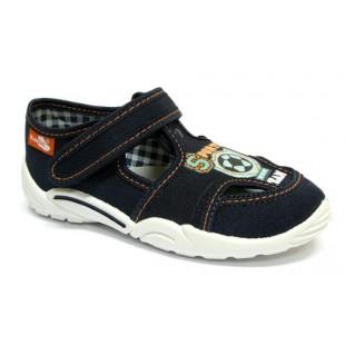 Текстильные сандалии с кожаной стелькой Арт 33-375-0113 granat