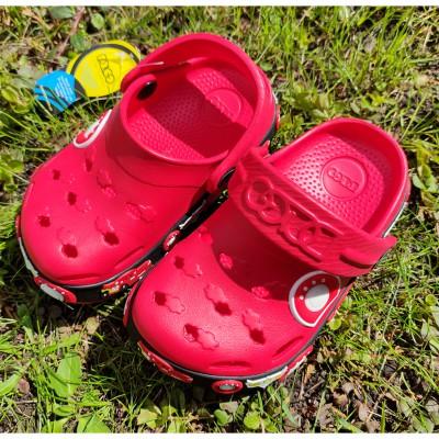 Крокси з піни EVA для хлопчиків Dago, 033 червоний