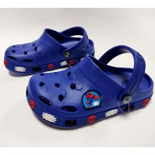 Крокси з піни EVA для хлопчиків Арт: 033 blue