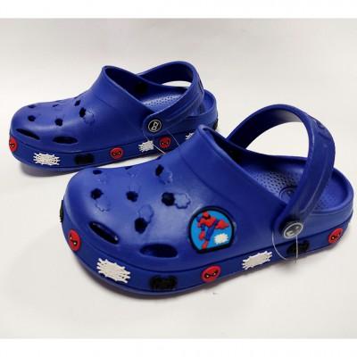 Крокси з піни EVA для хлопчиків Dago, 033 blue