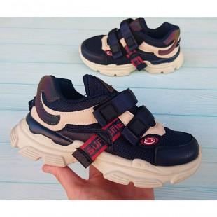 Кроссовки для мальчиков школьников Арт.: 3789-B1