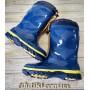Резиновые сапоги с утеплителем 478 blue