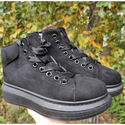 Утеплені черевики жіночі, підліткові  772-215