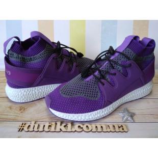 Кроссовки для девочек-подростков Арт: 516Y031 fiolet - последняя пара!