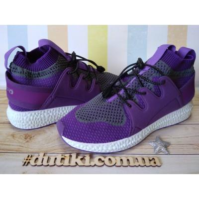 Кроссовки-носки, легкие  дышащие, Befado 516Y031 fiolet