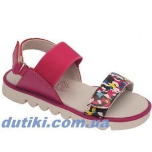 Модные босоножки для девочек Арт:5518-1602 фуксия