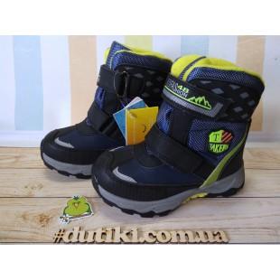 Зимние термо ботинки для мальчиков Арт: 5792E