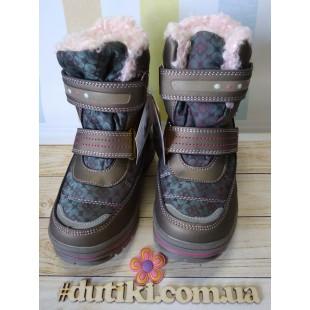 Зимние термо ботинки для девочек Арт: 5860-B