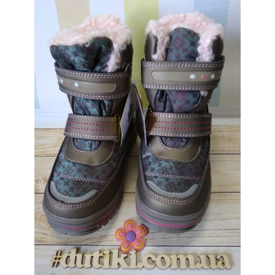 Зимние термо ботинки, ТОМ.М 5860-B