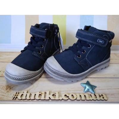 Ботинки для мальчиков из натуральной кожи, Bi&Ki 5926-A