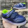 Кроссовки для мальчиков, мигалки  606-1