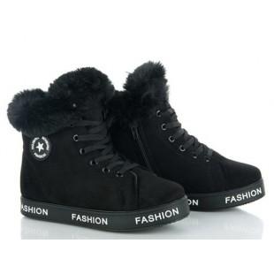 Зимние  ботинки-сникерсы  Арт: 24-1 - последняя пара ! 39 р= 24.8 см