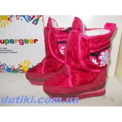 Зимние термо ботинки, 6260 red