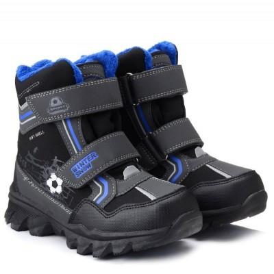 Зимние термо ботинки с мембраной, 02-04 blue