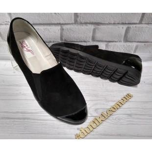 Женские туфли на черной подошве Арт.: 047-5