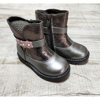 Утепленные ботинки для девочек ТОМ.М, B0677