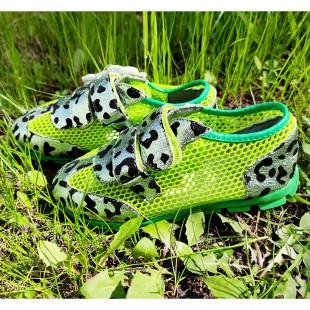 Кросівки сітка для дівчаток Арт: 84-3H green