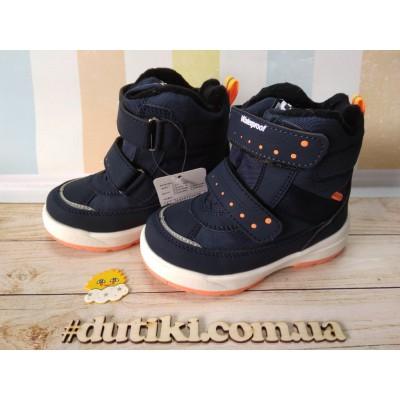 Зимние термо ботинки, A2972-1 blue