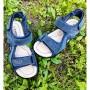 Босоніжки для хлопчиків з натурального нубуку, 5709A blue