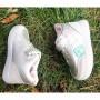 Утепленные хайтопы ботинки девочкам, 6-71GA silver