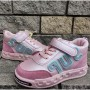 Высокие кроссовки, полуботинки девочкам 114AG pink
