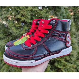 Ботинки для мальчиков и девочек Арт: Active-kids red - распродажа - последняя пара 30рр!