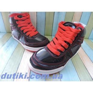 Ботинки для мальчиков и девочек Арт: Active-kids red - распродажа!