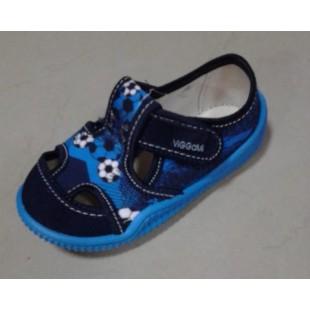Текстильные сандалии-тапочки для мальчиков Adas maly