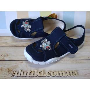 Текстильные сандалии-тапочки для мальчиков Adas termodruk granat