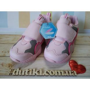 Кроссовки-зефирки  для девочек Арт.: B005-09C pink