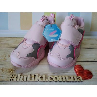 Кроссовки - зефирки  для девочек, Bi&Ki  B005-09C pink