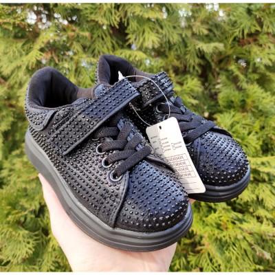 Кросівки для дівчаток, 78001B black