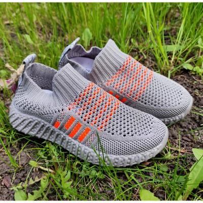 Кросівки сітка для лопчиків Lilin, 2-063B grey