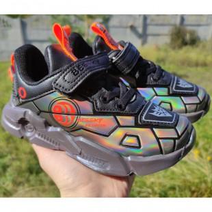Кросівки для хлопчиків голографічні Арт: C2-185B