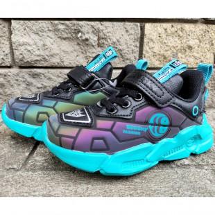 Кросівки для хлопчиків голографічні Арт: B3-185B