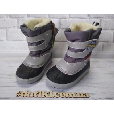 Зимние сапоги, сноубутсы Baby sports_grey