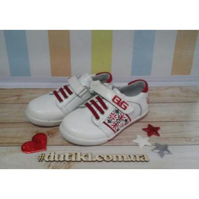 Кожаные кроссовки- туфли, BG1715-02