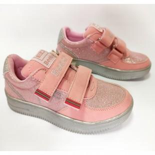 Кроссовки нежно-розовые для девочек Арт: BK7-9003