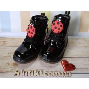 Ботинки для девочек с украшением Арт: BNP-0958