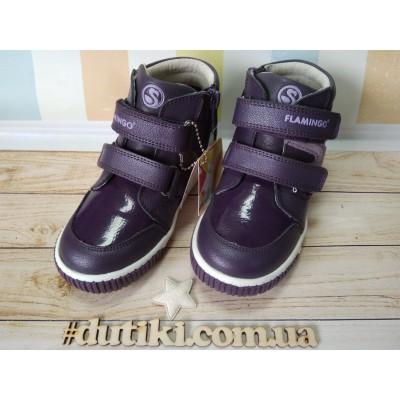 Ботинки для девочек Фламинго 0548
