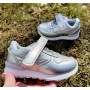 Сріблясті кросівки для дівчаток, 2-0682H