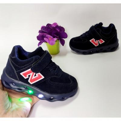 Кросівки для хлопчиків, мигалки 1-8125H