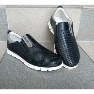 Туфлі мокасини для хлопчиків з натуральної шкіри Арт: 0280-DC